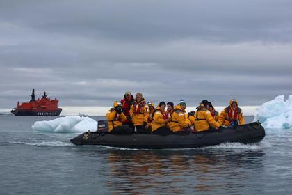 В Арктике начался туристический сезон