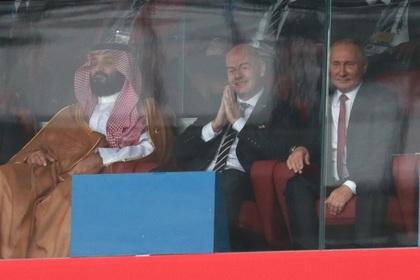 Песков объяснил жесты Путина в адрес саудовского принца