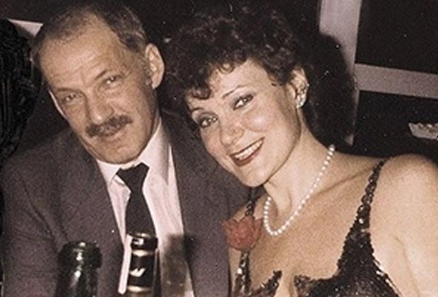 Евсей Агрон и его вторая жена Майя Розова