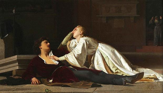 1860 Смерть Ромео и Джульетты