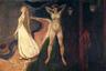 Картина «Три возраста женщины» (другие названия — «Женщина» и «Сфинкс») была создана около 1894 года, когда Мунк работал над циклом «Фриз жизни: поэма о любви, жизни и смерти». Работы из цикла располагались на четырех стенах, каждая из них соответствовала одной из подтем. «Три возраста женщины» вошли в раздел «Расцвет и закат любви».