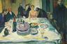 «Цыганская свадьба» — автопортрет Мунка 1925 года, себя он изобразил крайним слева. Другая версия картины называется «Автопортрет за свадебным столом», но на ней других гостей нет, а художник сидит в той же позе с бутылкой.