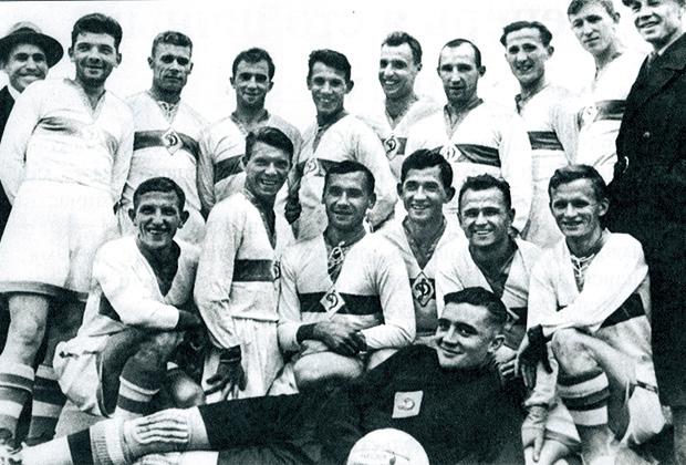 «Динамо» (Москва) — победитель первого чемпионата СССР (весна 1936 года)