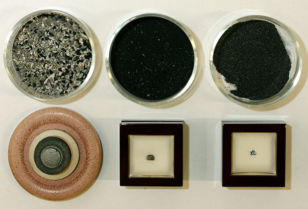 Стадии изготовления синтетического алмаза в лаборатории Algordanza