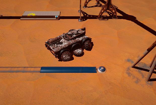Результат прямого попадание метеорита