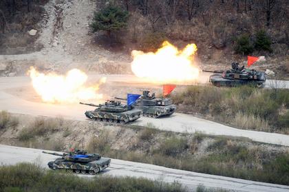 США иРеспублика Корея свернут общие  военные учения