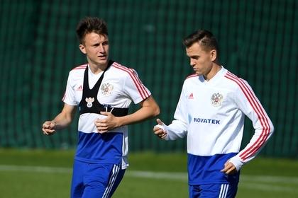 Александр Головин (слева) и Денис Черышев