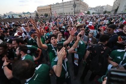 Прыжки мексиканцев после гола в ворота Германии спровоцировали землетрясение