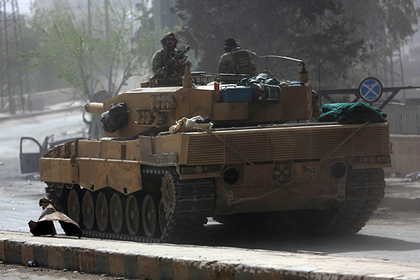 Турция начала действовать в Сирии совместно с США