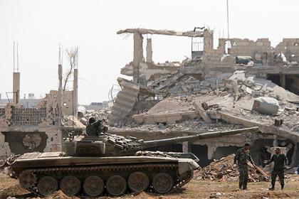 В Сирии убиты свыше 50 военных Асада