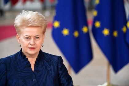 Президент Литвы сделала тревожное объявление относительно нападения войск В. Путина