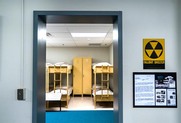 Общежитие для размещения законодателей в бомбоубежище под «Гринбриером».