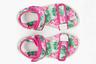 Арбуз — одно из самых любимых детьми и взрослыми летних лакомств. Пока настоящие арбузы еще не созрели, можно полюбоваться ими на собственных сандалиях с принтами.