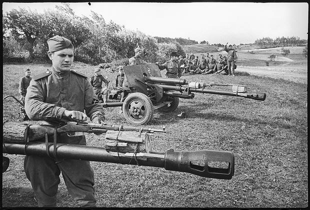 Боевая учеба. 2-й Украинский фронт.