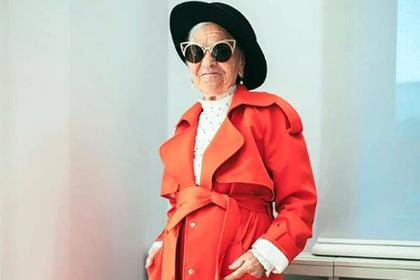Прославившаяся на весь мир российская пенсионерка снялась для глянцевого журнала
