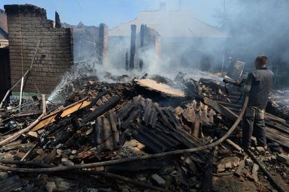 Обстрелы полностью уничтожили населенный пункт в Донбассе