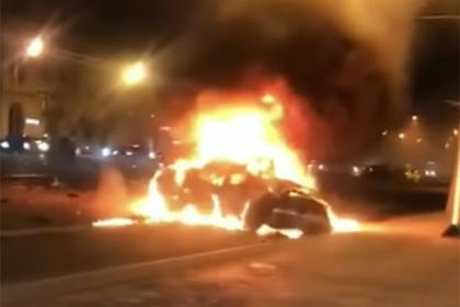 Появились подробности о сгоревшем заживо виновнике ДТП на Кутузовском