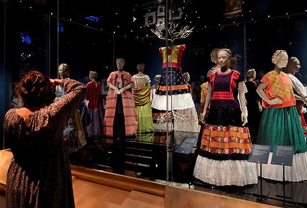 Платья Фриды Кало в традиционном мексиканском стиле