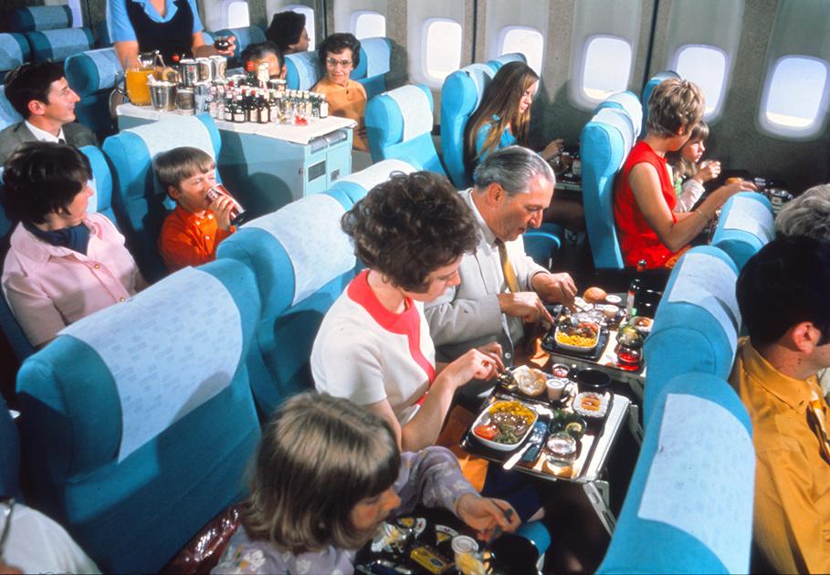 Economy class 1960's-to 1970's
