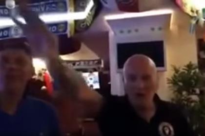 Нацистские песни фанатов сборной Англии в Волгограде попали на видео