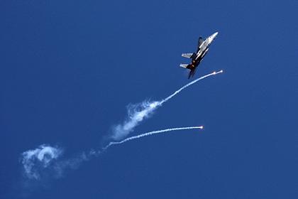 Израиль использовал боевую авиацию в борьбе с воздушными змеями