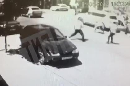 Спор о мусоре в Махачкале перерос в массовую драку со стрельбой и попал на видео