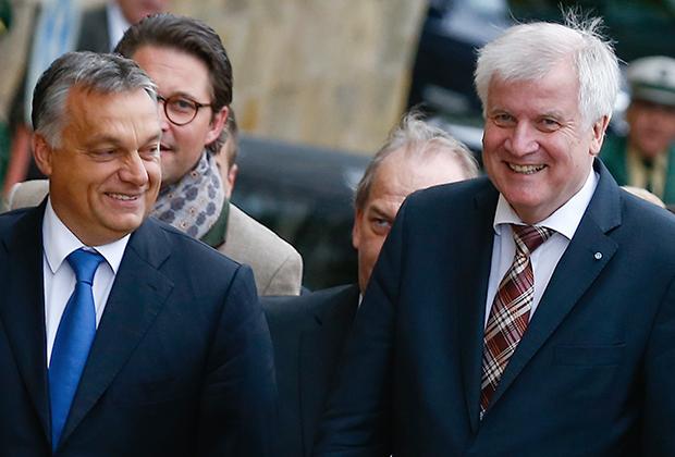 Виктор Орбан и Хорст Зеехофер отличаются жесткой антимигрантской риторикой