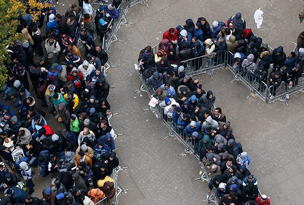 Германия приняла у себя свыше 1,5 миллиона мигрантов