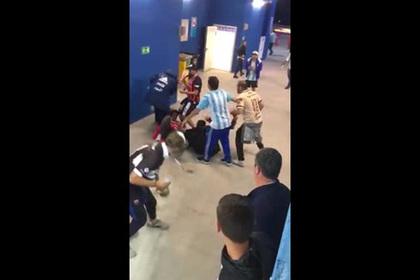 Аргентинские болельщики подрались с хорватами на стадионе в Нижнем Новгороде