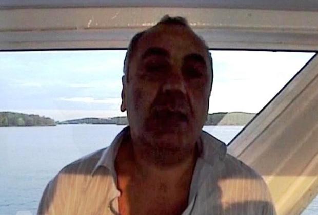 Тариэл Ониани (Таро) после задержания, 7 июля 2008 года