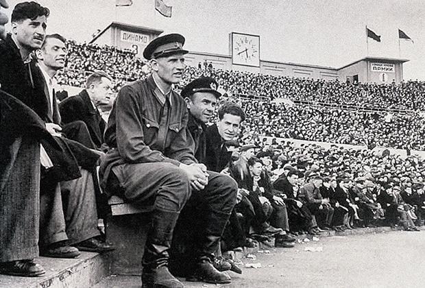 25 мая 1941 года. Матч «Динамо» (Москва) – «Красная армия». До начала войны меньше месяца