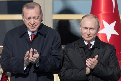 Эрдоган похвалил себя и Путина