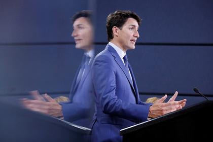 Канадский премьер пострадал из-за солнечных очков