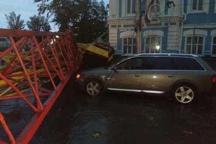 Последствия урагана в Барнауле