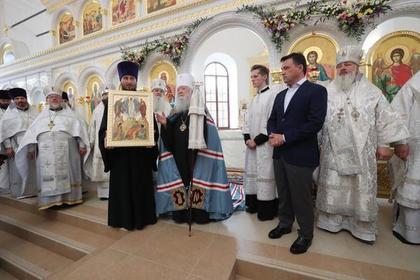 Губернатор Подмосковья помог возродить православную святыню