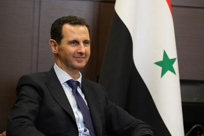 Асад отказался считать войну в Сирии гражданской