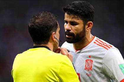Нападающий сборной Испании оскорбил мать и сестру иранского защитника