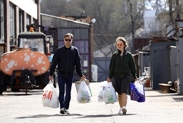 Пункт раздельного сбора мусора в Москве