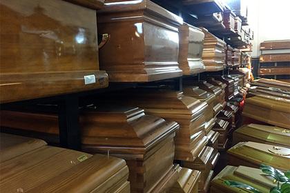 Китайцев заставили избавиться от собственных гробов
