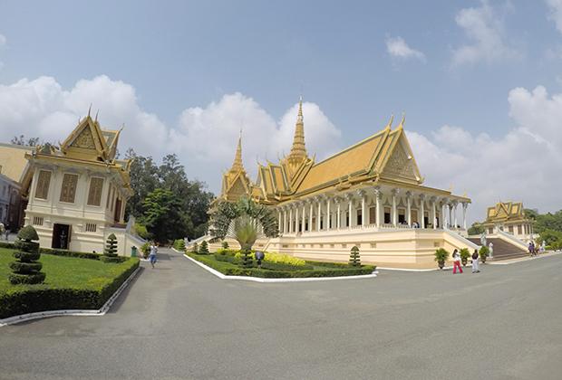Королевский дворец в Пномпене, Камбоджа