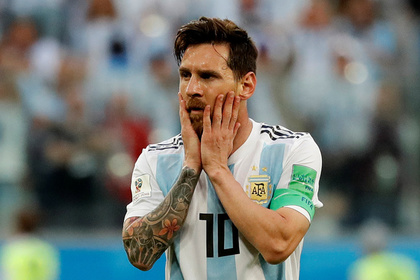 Месси забил свой первый гол на чемпионате мира
