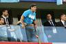 Диего Марадона на матче Аргентина — Нигерия