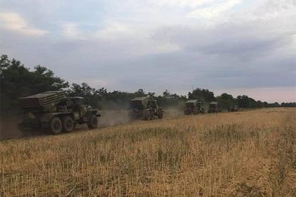 Украина провела уграницы сКрымом военные учения