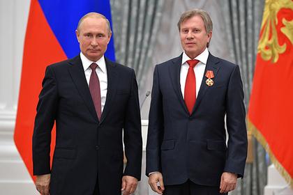 Владимир Путин и Виталий Савельев
