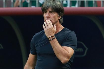 Главный тренер сборной Германии прокомментировал вылет с ЧМ