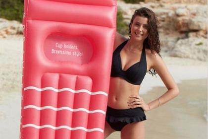 Выпущен пляжный аксессуар для девушек с большой грудью