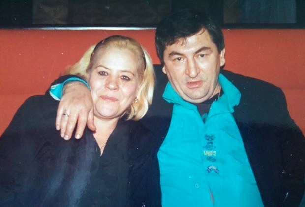 Лидия (Лиданя) и Датико Цихелашвили (Дато Ташкентский)