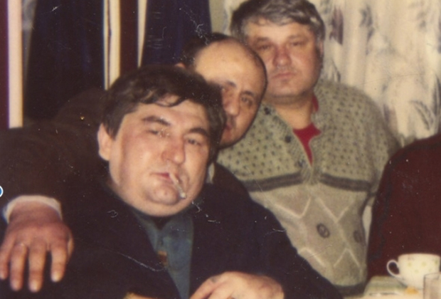 Слева направо: Датико Цихелашвили (Дато Ташкентский), Владимир Чернышев (Вова Черный), Евгений Васин (Джем)