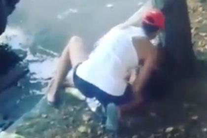 Очевидцы сняли смертельный наезд бизнесмена на жену игрока КВН с коляской