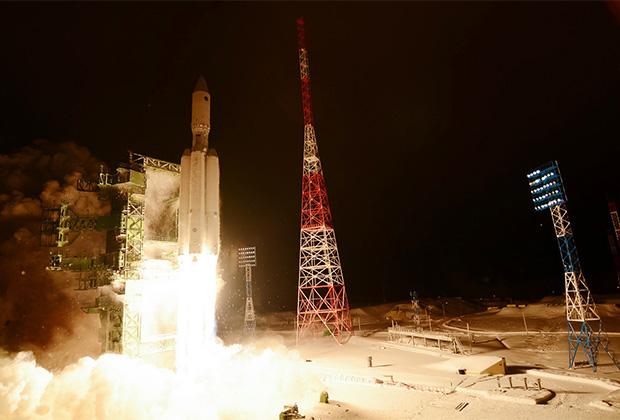 Первый и единственный пуск ракеты-носителя тяжелого класса «Ангара-А5»